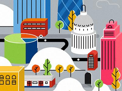London stpaul skylines bus tube city england london