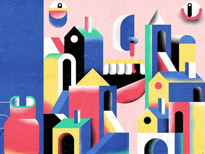 Geometricity by adrien kulig dribbble for Geometricity project