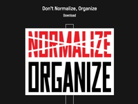 Don't Normalize, Organize