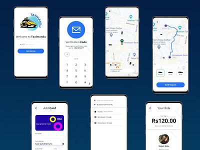 Taximandu Application  can help you to reach your destination app design life uiux ui concept design app design