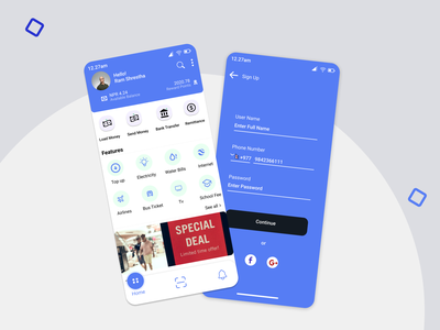 Digital Wallet concept love uiux wallet ui design nepal wallet