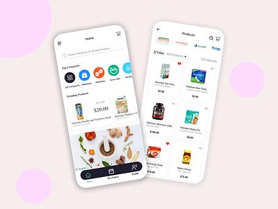 PRODUCT ON CALL healthy health app health care skin care product care designs inspiration design idea uiux ui love designer design