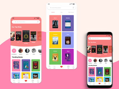 Book Store branding illustrator color like portfolio uiux ui store design bookstore books