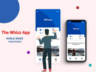 The Whizz App travelling ewbsite application love designlife uxdesign idea illustrator concept uidesign lifestyle brand ui  ux life ui travelling app