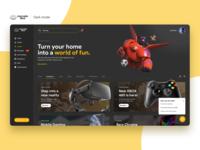 Mercado Libre - Dark Mode platform ux clean web design product design mockup interaction typography layout ui design