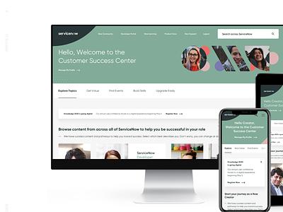 Service Now - Platform Website interaction clean layout design ui web design platform design