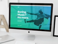 Spotify Landing Web | Excercise
