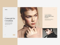 Fashion modular website