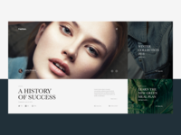 FASHION | Modular Website Concept