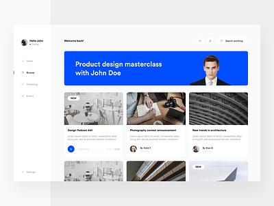 Design dashboard app clean grid typography minimal layout ui design