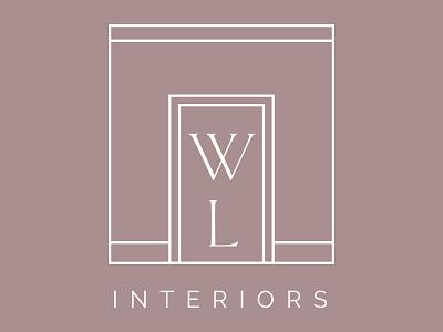 Logo mark concept for interior design studio. logo design concept interior design branding logo
