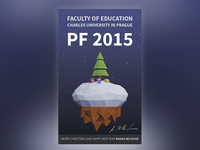 Faculty of Education Charles University in Prague Christmas card