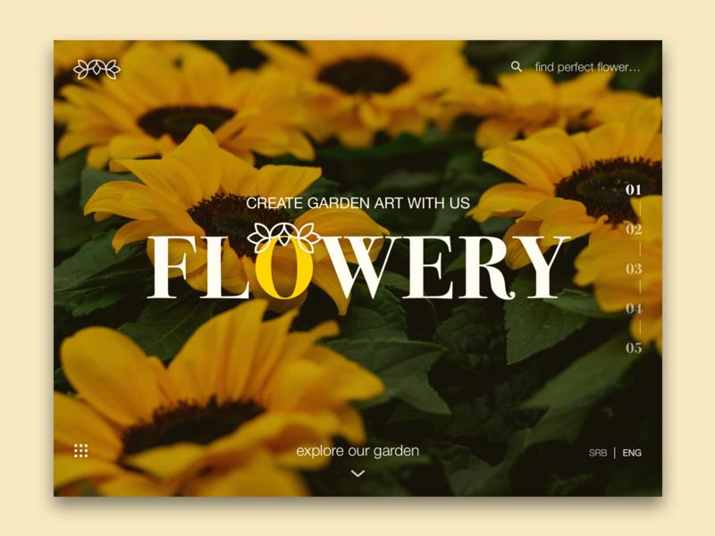 Create garden art with Flower shop 🌻