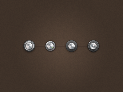 Buttons icon design button