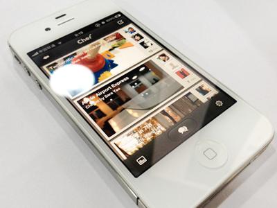 Cher app 2 ios design interface iphone app