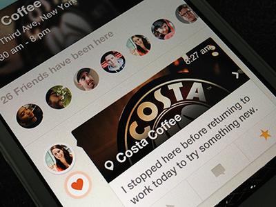 Kiwi app iphone ios app design check-in