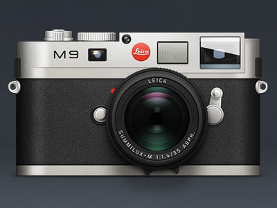 Leica M9 Icon Camera Design
