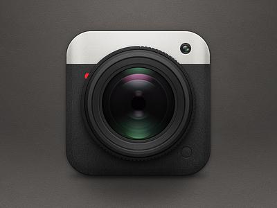 Camera Icon ios iphone app design interface icon ipad