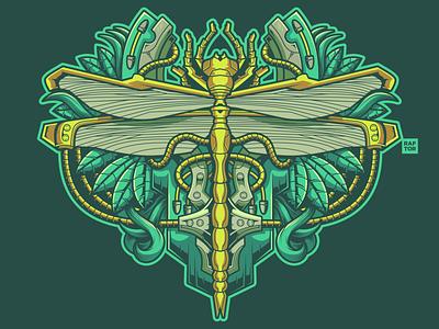 Dragonfly vectorart vector shirt art coreldrawx9 coreldraw artwork indonesia illustration digital art designer illustration art illustrator dragonfly