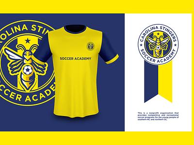 Soccer Academy indonesia logomaker jersey logodesign design dribbble coreldraw illustration illustrator artwork logo designer