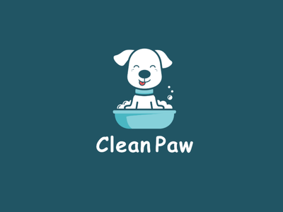 Clean Paw illustration petcare