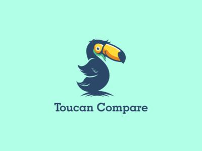 Toucan logomaker logo illustration