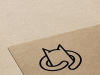 cat hug logo