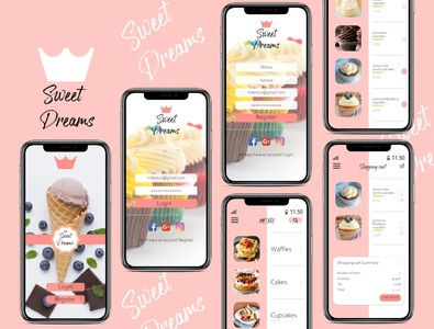 """Sweet Dreams"" Dessert App"