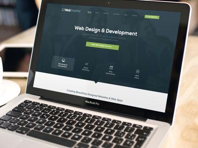 Web Together Homepage Design web design company homepage green nexa marketing apps newsletter blog dublin ireland