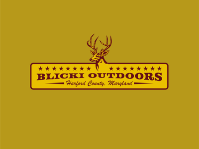 Blicki Outdoors - Hunting Lifestyle Brand branding deer hunting