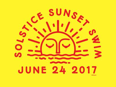 Solstice Sunset Swim 2017