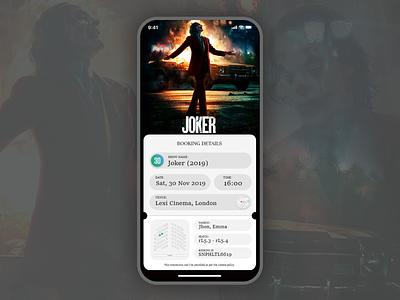Cinema Ticketing App application application ui application design ui  ux app design cinematic cinema design ui xoomart
