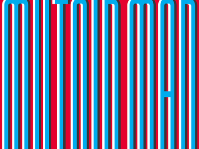 ||| || | || | ||  ||| || || typography overlay red white and blue stripes