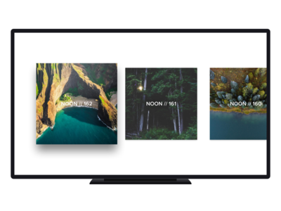 Noon Pacific for Apple TV radio player tv television music pacific noon