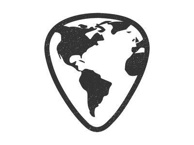 World Music logo change playing music world