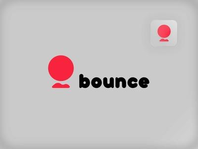 Bounce chat social media logo social media website socialmedia bounce dailychallenge logo vector dailylogochallenge dailylogo