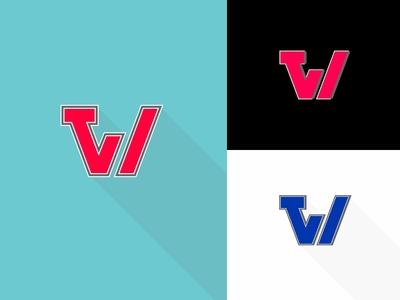 TVW globe tv dailychallenge logo vector dailylogochallenge dailylogo tvw tv television news network news television