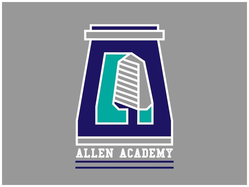 Allen Academy college wisdom tree academy chess allen academy university logo academy logo dailychallenge logo vector dailylogochallenge dailylogo