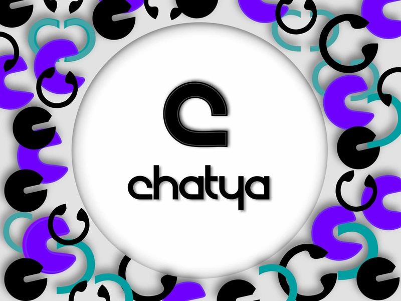 Chatya letter c ping pong chatya messaging app dailychallenge logo vector dailylogochallenge dailylogo