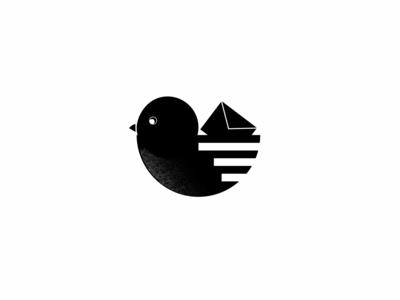 Postal postal service post office letter pigeon bird postal post dailychallenge logo vector dailylogochallenge dailylogo