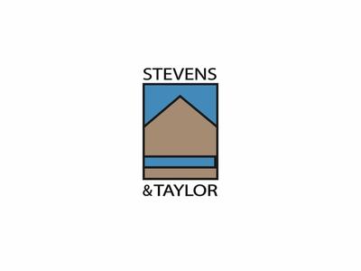 Stevens & Taylor house architectural firm architect dailychallenge logo vector dailylogochallenge dailylogo