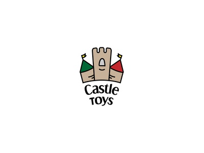 Castle Toys day 49 toy store fun kids childrens toys shop toys castle toys castle dailychallenge logo vector dailylogochallenge dailylogo