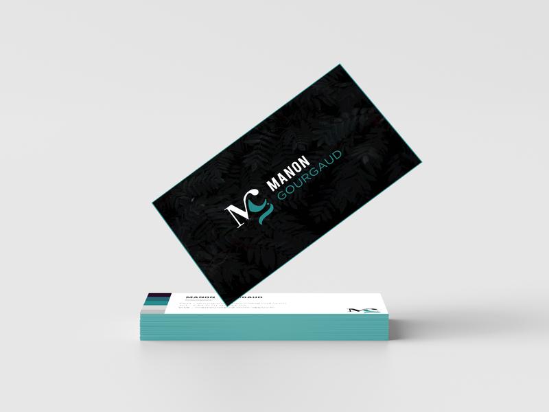 carte de visite vector typography illustration logo identity branding identity design branding illustrator graphic design graphique design design