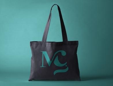 Tote Bag - logo MG totebag logo identity branding illustrator identity design branding graphic design graphique design design