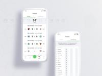 Schedule & Scores - App