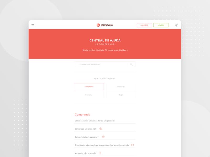 be554bbeb FAQ page - Web search webapp responsive grid red desktop design page faq ux  design ui
