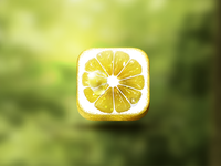 App Icon design Lemon