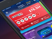 Lottery App Concept