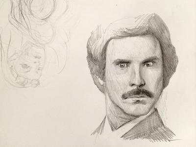 Will Ferrell Sketch