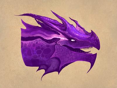 Dragon - Violet